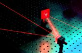 Laser de verrouillage bricolage alarme