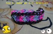 Comment faire un bracelet XO