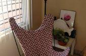 Couverture de chaise de papillon
