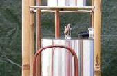 L'Allen Hydrautomat, un modèle de bidon de peinture travail.