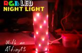 Nuit de LED lumière changeante de couleur