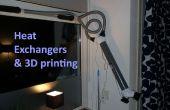 Échangeurs de chaleur et l'impression 3D