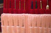 Bonneterie, étui de rangement au Crochet Crochet