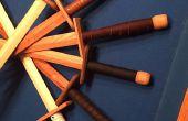 Épées en bois et comment j'ai appris à aimer le travail du cuir