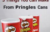 3 choses vous pouvez faire de Pringles Cans