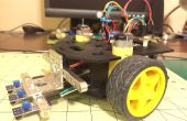 Simple robot suiveur de ligne en utilisant un Actobotics Runt Rover Sprout