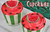 Pastèque Cupcakes