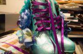 Génial Floral Wedge bottes