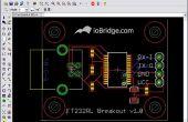 Ajout de graphiques personnalisés à EAGLE PCB mises en
