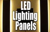 Faites vos propres panneaux d'éclairage LED