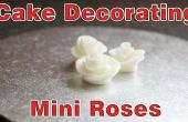 Décoration de gâteau simple - Mini Fondant Roses