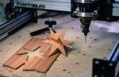 Ornements en bois simple