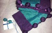 Fabrication des boutons de tissu