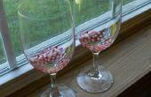 Adorable peint verres à vin