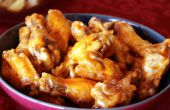 Recette ailes de poulet Buffalo