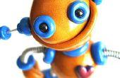 Sculptures de robot, parfois ondulées Jiggly toujours génial