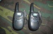 Ajouter un écouteur pour votre talkies-walkies