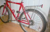 Ailes de vélo de bouteilles d'eau et cintres