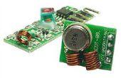 Module émetteur-récepteur RF 315/433 MHz et Arduino