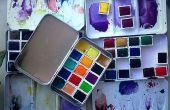 Paintbox avec casseroles magnétiques