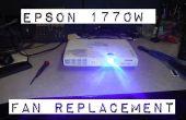 Epson 1770W LCD projecteur surchauffe ? Réparez-le!