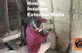 Comment isoler les murs extérieurs