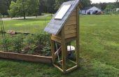 Télécommande solaire de jardin arrosage System