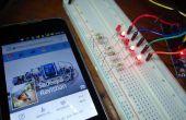 Arduino avec Facebook - la manière simple de contrôler