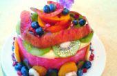 Gâteau aux fruits-melon d'eau- et un petit supplément à la fin