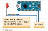 Clignotant LED avec Arduino Nano