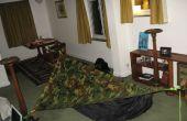 DIY asymétrique tente de hamac avec bâche (tente hamac maison)