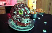 Crâne de saumon fumé