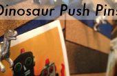 Goupilles-poussoirs dinosaure