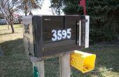 Recyclage extrême : Boîte aux lettres