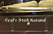 Katana de métier de bâton !