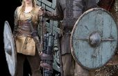Vikings TV Voir la saison 1: Ragnar et Lagertha Costumes Bonus cheveux instruction comment