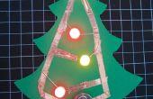 Papier de LED vacances arbre