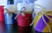Bougies de Noël bricolage