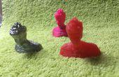 Monter et mouler une pièce imprimée 3D