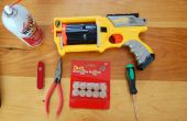 Nerf Maverick bride, barillet serrure suppression