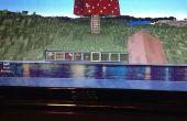 Champignons maison dans Minecraft