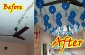 Décorez votre maison avec des ballons flottant dans l'Air