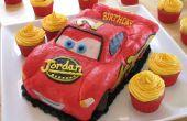 Gâteau d'anniversaire de Lightning McQueen