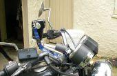 Bon marché (laid) ? Monture de caméra pour moto