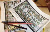 Coloriages médiévaux