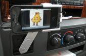 Tournante support voiture pour iPhone hors électronique recyclé et Garage Junk