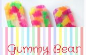 Comment faire Gummy Bear Popsicles