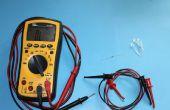Test des LEDs avec un multimètre