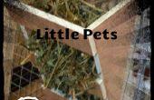 Rack de foin bricolage pour petits animaux