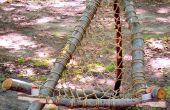 Rustique Style hamac chaise de Wilderness